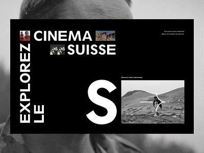 Journées de Soleure™ · Menu festival film swiss menu ui animation webdesign interactive branding interface art direction typography