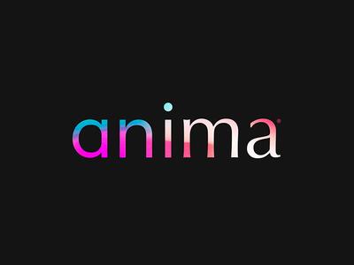 Anima™ · Logo identity branding logo typo moonshot typography font evolution humanist