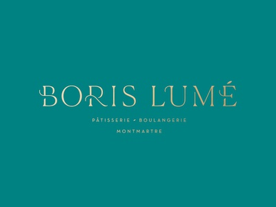 Boris Lumé™ · Logo