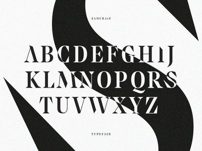 Samurais™ · Typeface