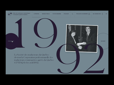 OTTIAQ™ · Menu illustration menu editorial design editorial layout typo interactive animation branding art direction interface typography