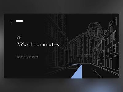 Angell - PowerPoint Slides statistics stats data microsoft powerpoint slides slide design animation digital ui design smart bike ride electric bike e-bike