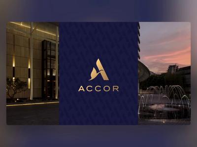 Accor - PowerPoint Slides accor branding design ui digital animation slide design slides powerpoint microsoft