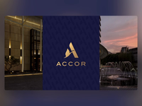 Accor - PowerPoint Slides accor branding design ui digital animation slide design slides powerpoint microsoft