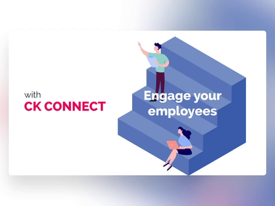 CK Connect - PowerPoint Slides course training learning illustration design ui digital animation slide design slides powerpoint microsoft