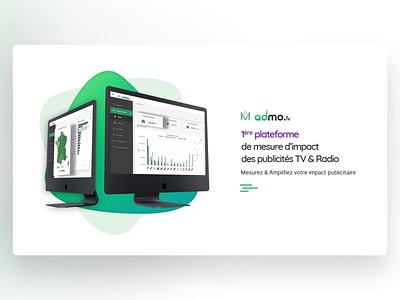 Admo.tv - PowerPoint Slides adwords media tv analytics digital morph template slide design animation slides powerpoint microsoft