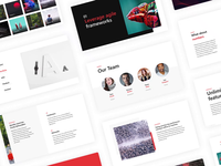 Glide - Free PowerPoint Template