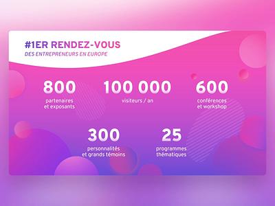 Les Echos | Salon des Entrepreneurs - PowerPoint Slides vector event design ui digital morph animation slide design slides powerpoint microsoft