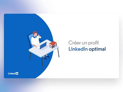 LinkedIn - PowerPoint Slides illustration design digital morph template animation slide design slides powerpoint microsoft