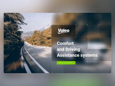 Valeo - PowerPoint Slides technology supplier automotive car design ui digital animation slide design slides powerpoint microsoft