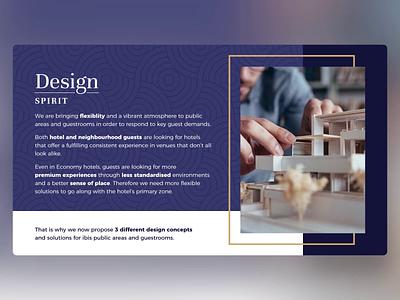 Accor Room Design - PowerPoint Presentation hotels branding accor design ui digital template animation slide design slides powerpoint microsoft