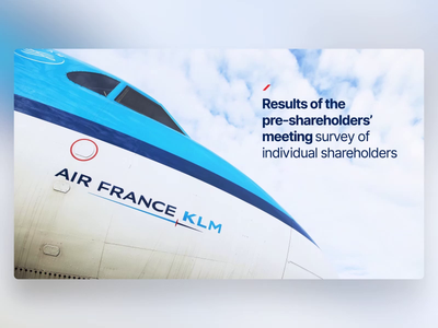 AirFrance KLM - PowerPoint Slides flight airline morph template fly design ui digital animation slide design slides powerpoint microsoft