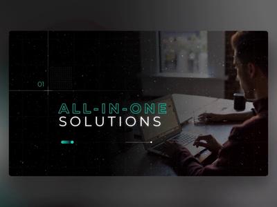 D-EDGE - PowerPoint Slides design ui digital animation slide design slides powerpoint microsoft