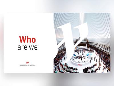 Unibail Rodamco Westfield - PowerPoint Slides