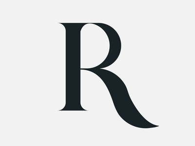 #14 - 30 day logo challenge illustration minimal flat logo design foundry letter r letter r type calligraphy calligraffity typography vector design 30 day logo challenge identity logocore logo branding 30logos