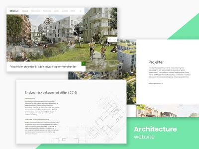 Architecture website i working on ATM website concept responsive modern web architect web design website