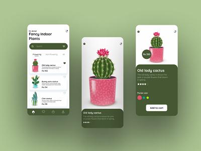 Daily UI #4 uichallenge app mobileui uxdesign plantsshop ecommerce dailyui uidesign ui