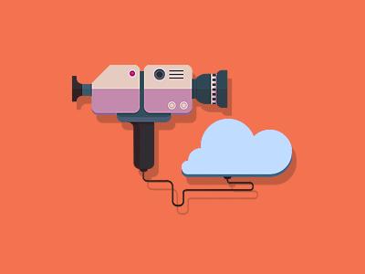 Media and the Cloud camera cloud flat video media market recorder