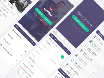 Redesign - App - Mandae