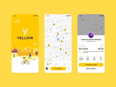 Yellow App - Bike/Scooter Sharing