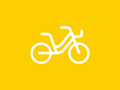 Outlines - Bike lottie aftereffect motion vector flat layout interface illustration