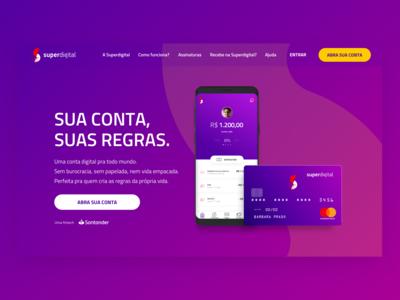 Superdigital - Landing Page
