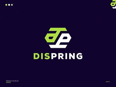DP MONOGRAM LOGO (ZULIPHOST) ui motion graphics animation graphic design 3d esportslogo design logo illustration abstract logo monogram logo logo design branding business logo awesome logo branding
