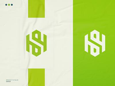 SH MONOGRAM LOGO saykatgraphics ui 3d motion graphics animation logo illustration esportslogo abstract logo monogram logo logo design branding awesome logo design branding business logo