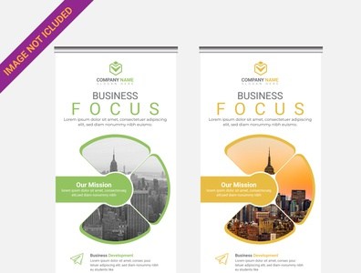 Corporate Busines Roll up banner design template  10 branding design logo illustration