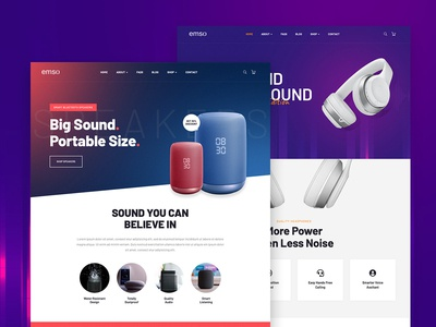 Emso - Single Product Theme