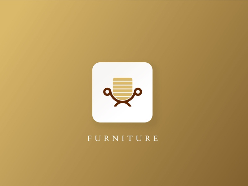 Furniture Logo logo design lettering vector branding creative design graphic design design logo furniture logo
