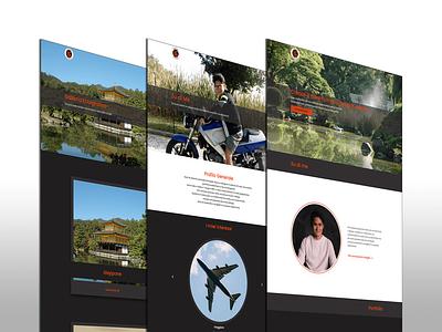 My personal Portfolio logo graphic design illustrator website icon ux web typography branding design