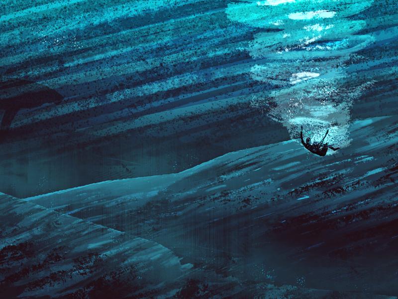 Jonah underwater water jonah whale