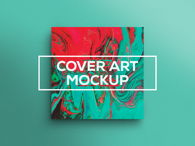 Cover Art Mockup  mockups band music artist album mockup cover mockup cover