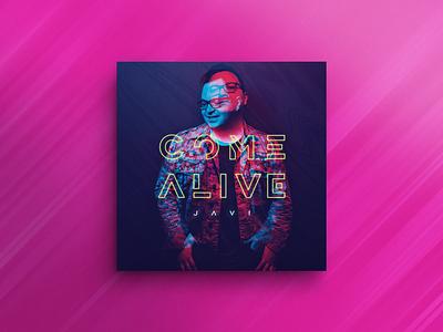 Come Alive | Cover Art glitch overlay album music covert art