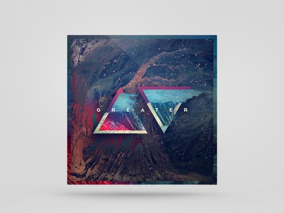 GREATER ep band church worship abstract shapes triangle cover album music