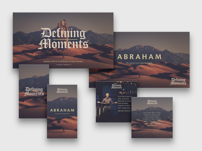 Defining Moments   Teaching Key Art sermon art sermon