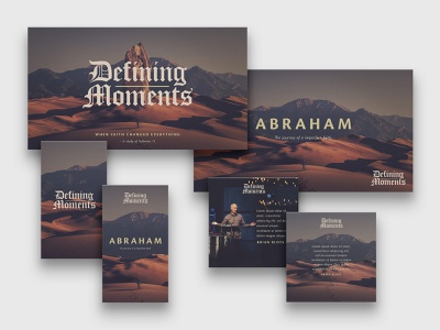 Defining Moments | Teaching Key Art sermon art sermon