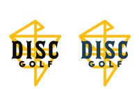 Disc Golf One Line