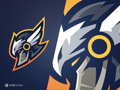 Garuda Knight garuda head brand vector general company illustration esport mascot logo logoesport
