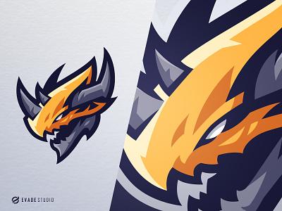 Monster monster digimon head brand vector general company illustration esport mascot logo logoesport