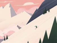 Skiing Dude