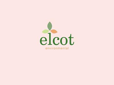 Elcot environmental logo japonese environmental icon nature logo branding