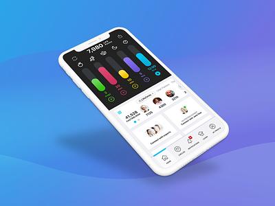 LIFE Extend Dashboard Enhancements mobile app mobile wellness mobile design app design app