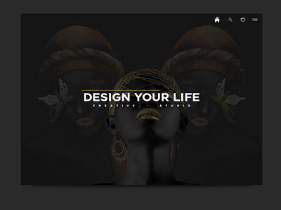 Design your life! webdesign website web ui