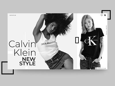 Calvin Klein branding design web ui website webdesign ui webdesign website web ui ux illustration webdesign website design ui deibbble design webdesign ui