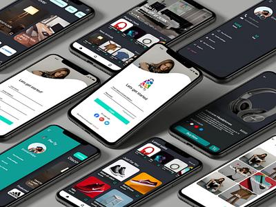Application mockup design appdesign adobexd web