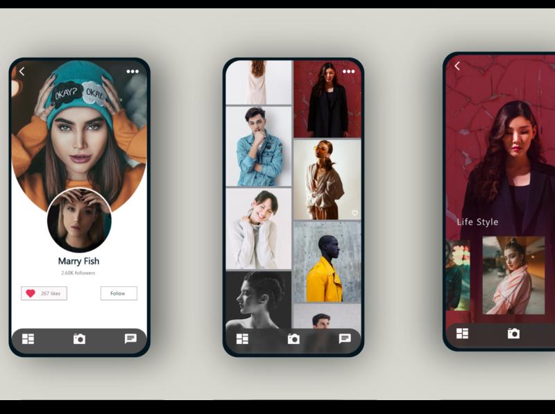 gallery web icon typography ux illustration ui branding app design @uxui @webdesign @prototyping @ui