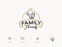 Family Friends - coffee shops logo