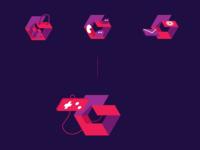 Gemly - Logo system